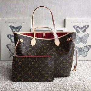 Louis Vuitton Neverfull Bag New Check Description